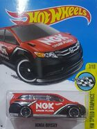 2017 HW Speed Graphics 07-10 058-365 Honda Odyssey 'NGK' Red