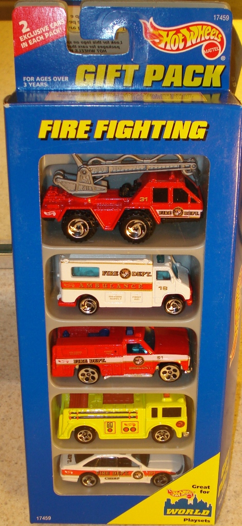 Fire Fighting 5-Pack