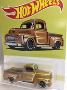 49 Ford F1. Gold
