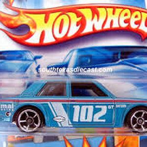 Hot Wheels Datsun Bluebird 510 1600 Nissan Red Faster than Ever NEW LC