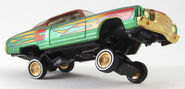 Hot Wheels - '70 Monte Carlo (Lowrider) – 1999 - Lowrider Magazine 3 Car Set (7)
