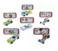 Toy story 4 collectors set back