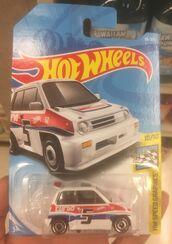 '85 Honda City Turbo II International Card