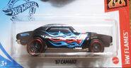 67 Camaro Black Blue&Red Flames Kroger Exclusive