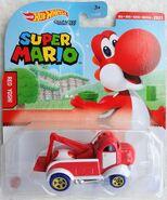 Super Mario Character Car Red Yoshi