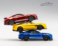 Trio 2020 Ford Mustang Shelby GT500 Stacked-1
