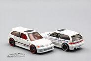 DVB00 and FYC51 - 90 Honda Civic EF-1