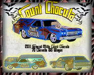 General Mills Count Chocula 70 Chevelle SS Wagon