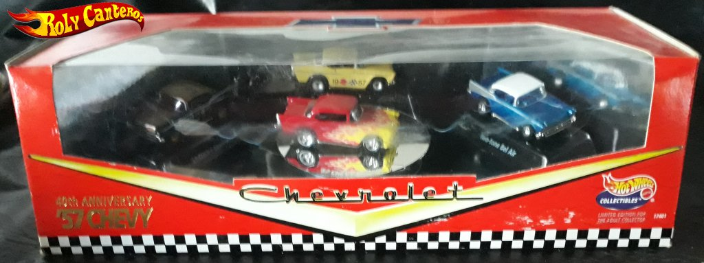 40th Anniversary '57 Chevy 4-Car Set