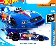 2019 Hot Wheels Mustang Funny Car 2nd color