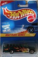 Hot Wheels School Bus Heat Fleet Series