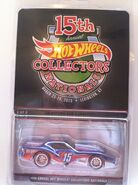15th Hot Wheels Annual Collectors Nationals '76 Greenwood Corvette carded