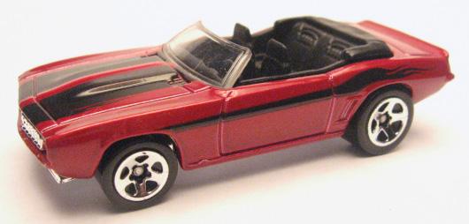 Orange w// Silver Grill /'69 Camaro 2006 Hot Wheels Y32
