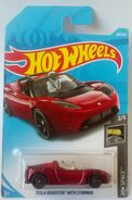 Tesla Roadster With Starman 2019 HW Space 2-5 109-250