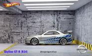 01 Nissan Skyline GT-R(R34)