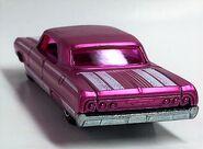 64 Impala. Pink Spectrafrost. Cool Classics. Rearvue