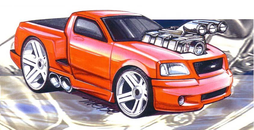 Ford Lightning ('Tooned)