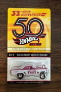 32nd Hot Wheels Collectors Convention '65 Mercury Comet Cyclone carded