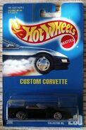 Custom Corvette black carded