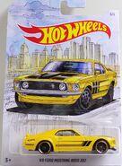 Mustang Boss 302 yellow 3of6