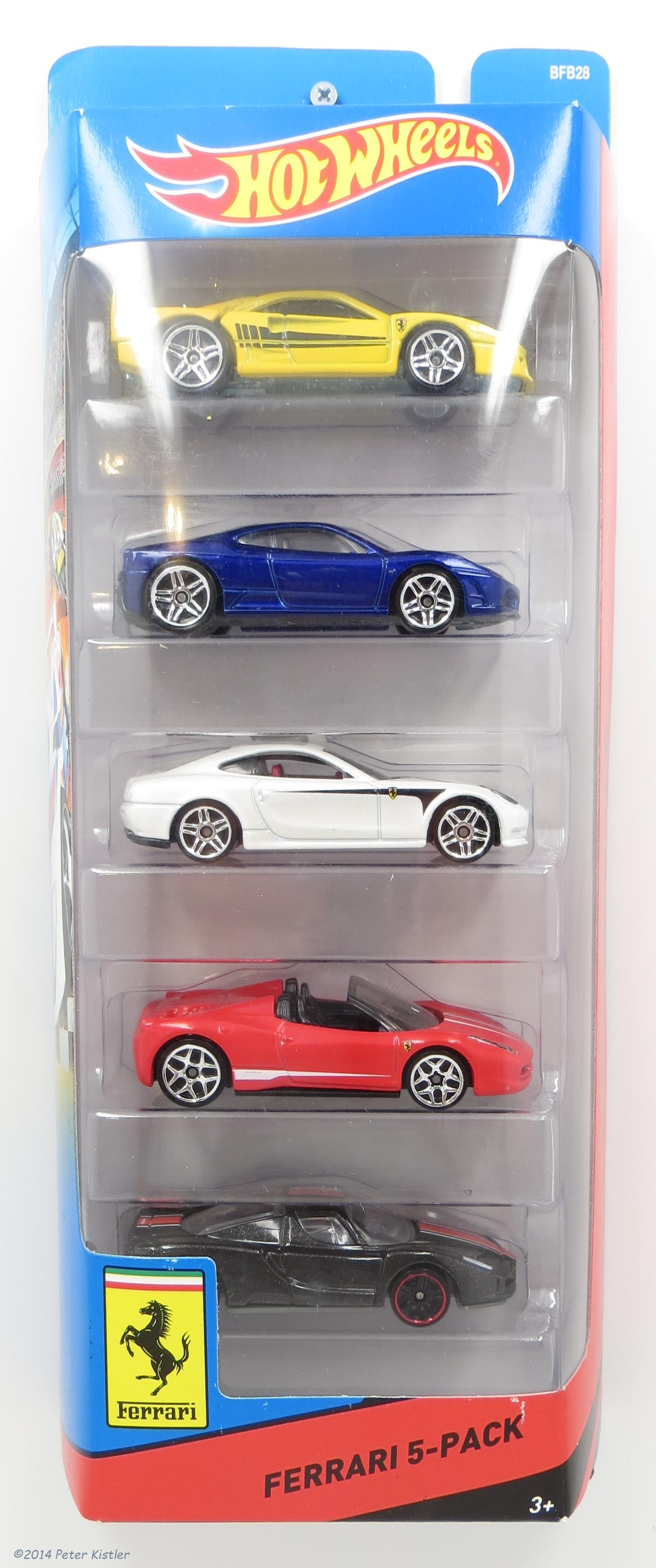 Ferrari 5-Pack (2014)