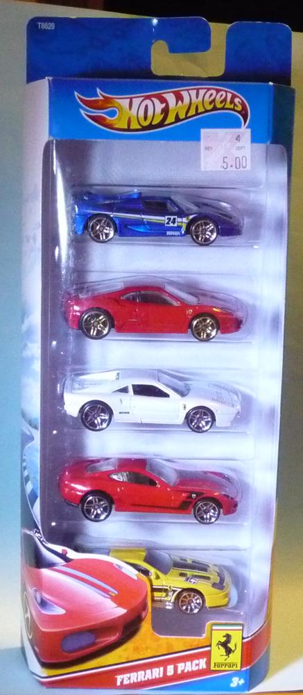 Ferrari 5-Pack (2011)