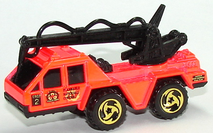 Details about  /1996 Hot Wheels ~FIRE SQUAD~ Flame Stopper 3//4
