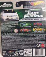 TF&TF Original Fast. Jetta Back Card