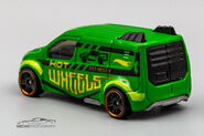 CFL65 - Hot Wheels Ford Transit Connect-1