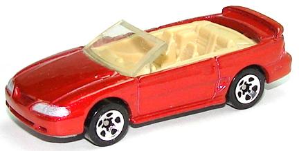 List of 1996 Hot Wheels new castings