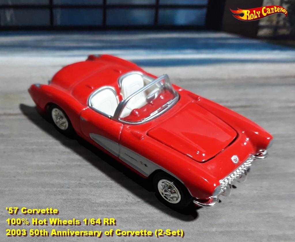 50th Anniversary of Corvette 2-Car Sets