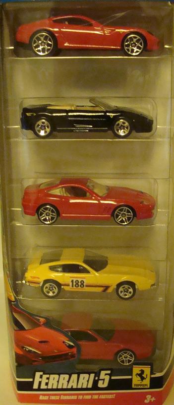 Ferrari 5-Pack (2009-1)