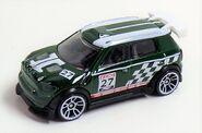 Mini WRC. Hunter Green.1