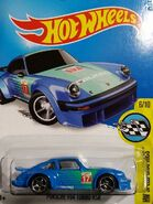 2016 181-250 HW Speed Graphics 06-10 Porsche 934 Turbo RSR '17 Falken' Blue