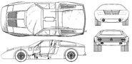 Mercedes-Benz C-111 Artwork