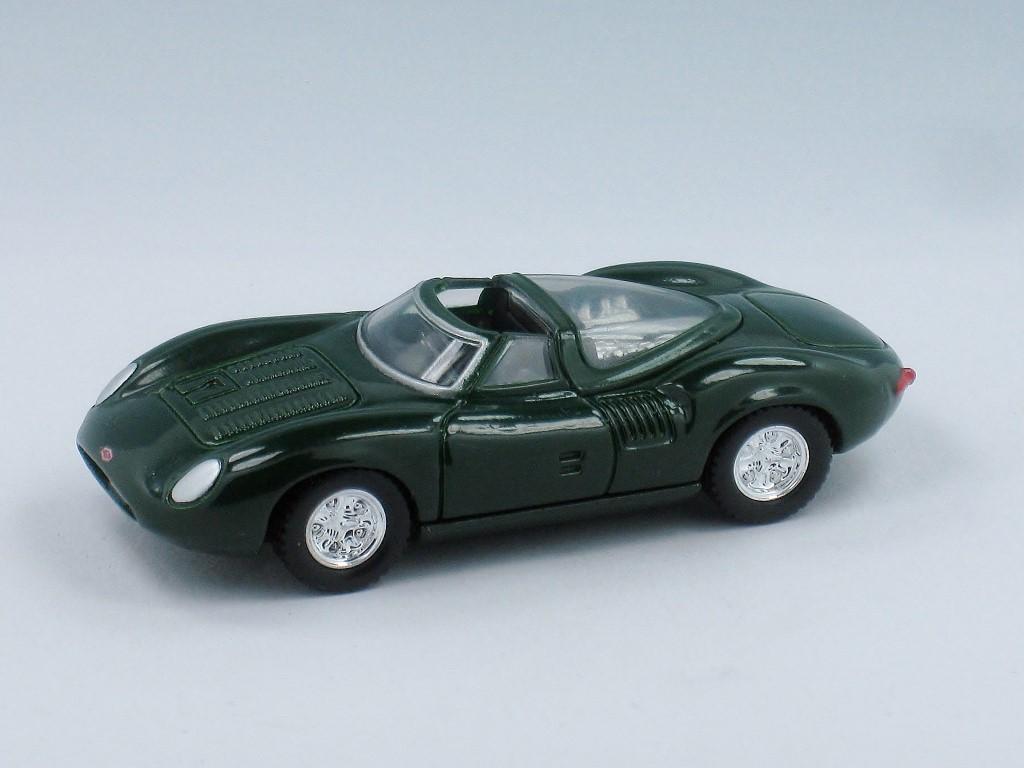 Jaguar Classic Sportscar 4-Car Set