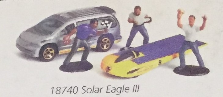 Solar Racing Action Pack