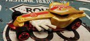 HW RATICAL RACER Street beasts GOLD