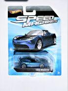 009a,SpeedMachines,TeslaRoadster,Blue-Black