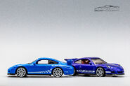2020 HW Exotics 5pack and 2018 Multipack Exclusive Porsche 911 GT3 RS-1