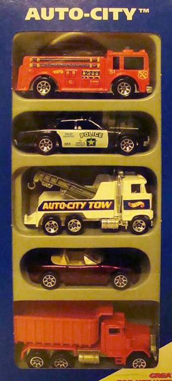 Auto City 5-Pack