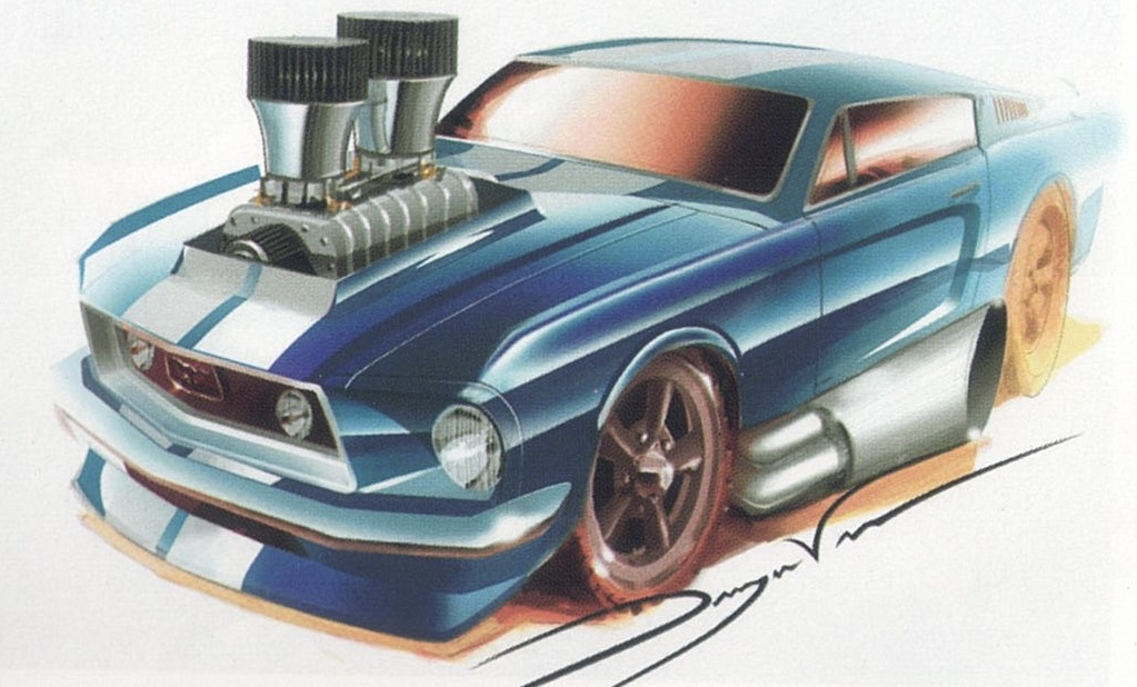 1968 Mustang ('Tooned)