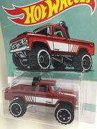 1970 Dodge Power Wagon.Red