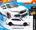 2019 Hot Wheels Civic Type R 2nd color