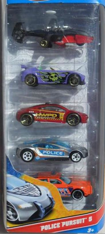 Police Pursuit 5-Pack (2012)