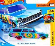 2019 Hot Wheels '64 Chevy Nova Wagon
