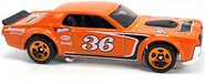 68 Mercury Cougar - 36 Orange