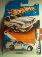 2011 HWR '92 Ford Mustang-White3