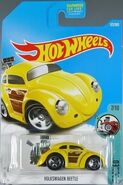 Volkswagen Beetle (tooned) - DVB38 Card