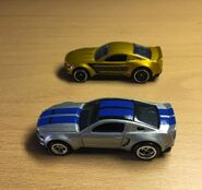 Custom Mustang (Need For Speed vs Police Pursuit)